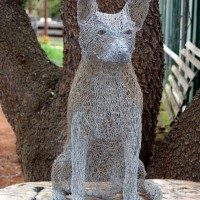 Wire Kelpie by Barbara Parry